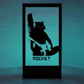 Panneau lumineux Rocket
