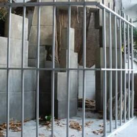 Clôture de prison 200cm