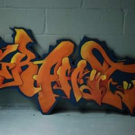 Panneau graffiti 70cm
