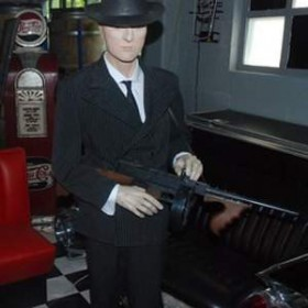 "Mafieux ""Al Capone"" 180cm"
