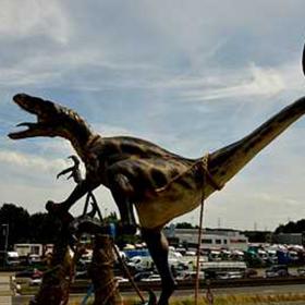 Dinosaure Vélociraptor 180cm