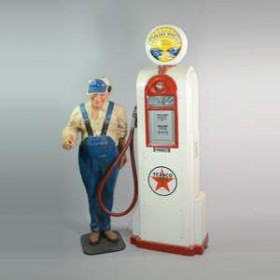 Pompe à essence Texaco