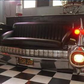 Coffre voiture banquette Cadillac 105cm