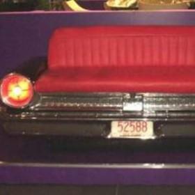 Coffre voiture banquette Black Ford 90cm