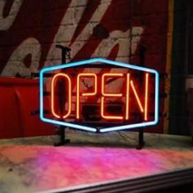 """Néon """"Open"""" 26cm"""