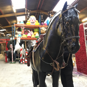 Grand Cheval Noir 210cm