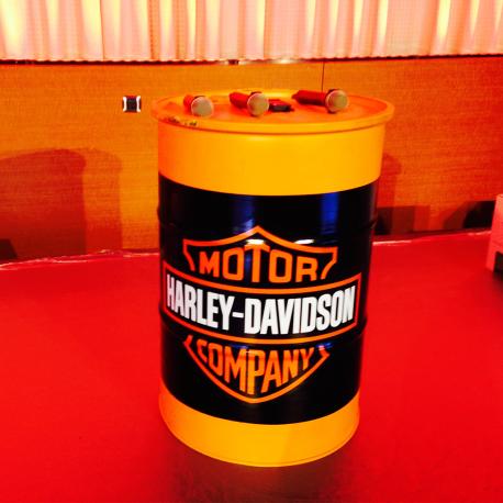 Bidon Dessence Harley Davidson Lib Deco