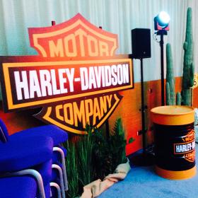 Panneau Harley Davidson