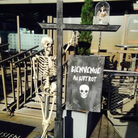 Bienvenue au bistrot Halloween