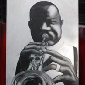 Panneau Jazzman 310cm