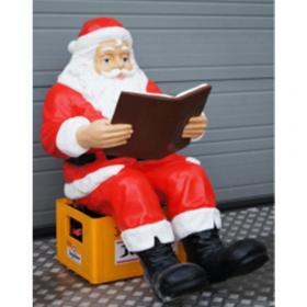 Père Noel assis 104cm