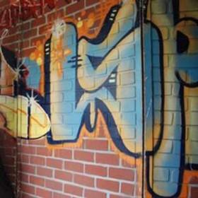 Mur graffitis 240cm