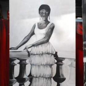 Panneau Nina Simone