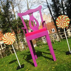 Chaise Géante 250cm