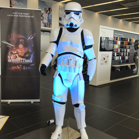 Personnage Stormtrooper 180cm