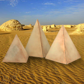 Lot de 3 Pyramides égyptiennes
