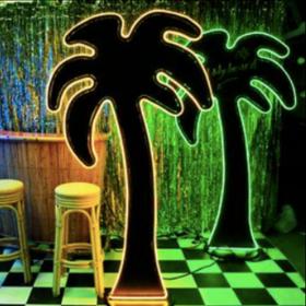 Palmier lumineux 198cm