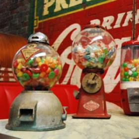 Machine à bonbons rétro 49cm