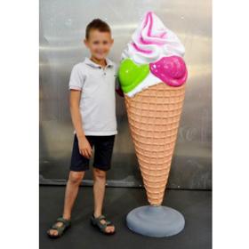 Cornet Glace 130cm