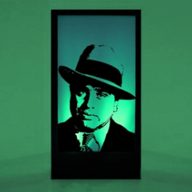 Panneau lumineux Al Capone 200cm