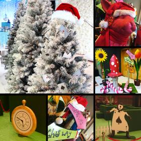 Décopack Alice au Pays de Noël
