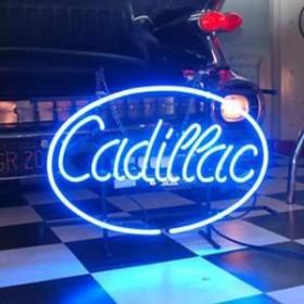 """Néon """"Cadillac"""" 43cm"""
