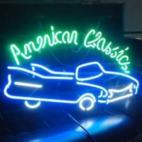"Néon ""American Classic"" Cadillac 48cm"