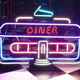 """Néon """"Diner"""" 56cm"""