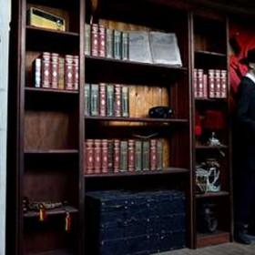 Bibliothèque en bois 200x225cm