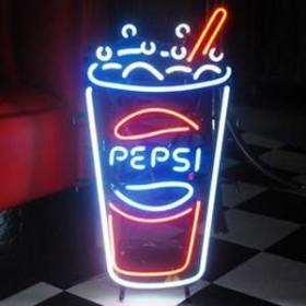 "Néon ""Pepsi"" 71cm"