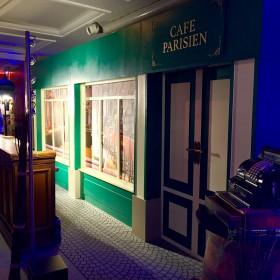 Façade de Café 245cm