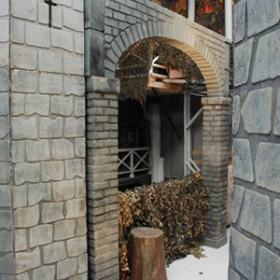 Arche, Château