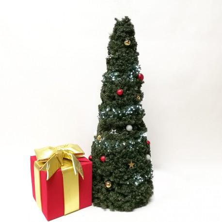 Sapin de Noël décoré 185cm