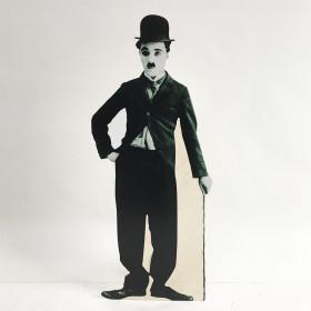 Silhouette Charlie Chaplin 1m70