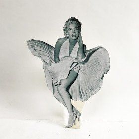 Silhouette Marilyn Monroe 1m50