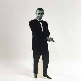 Silhouette Sean Connery 1m80