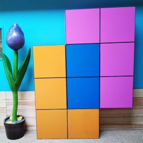 Lot de 3 Blocs Tetris XXL
