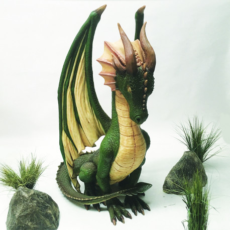Dragon assis 213 cm