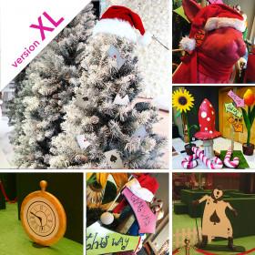 Décopack Alice au Pays de Noël XL