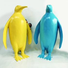Pingouin coloré