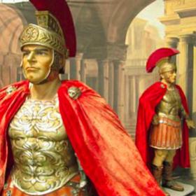 Soldat romain 219cm