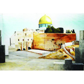 fond bâtiment arabe