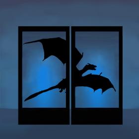 Panneaux lumineux dragon