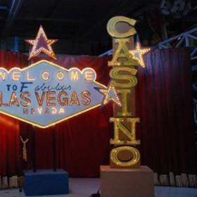 Éclairage électrique Casino