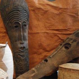 Masque tribal 170cm