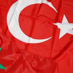 Drapeau Turquie 90cm