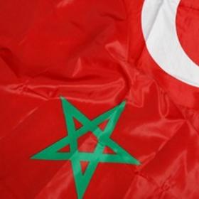 Drapeau Maroc 90cm