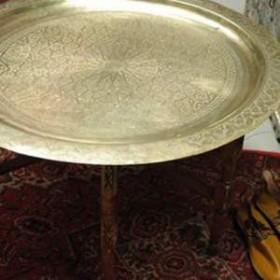 Table cuivre 49cm